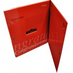 Society of Actuaries Magnetic Closure Folder with Flash Drive Slot
