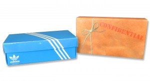 Adidas Promotional Packaging | Custom Mailers by COlad