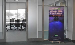 Bright Lights LED Banner | Custom Wall Display | Custom Sales Display by Colad