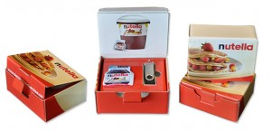 Nutella Promotional Packaging | Custom Mailers by Colad