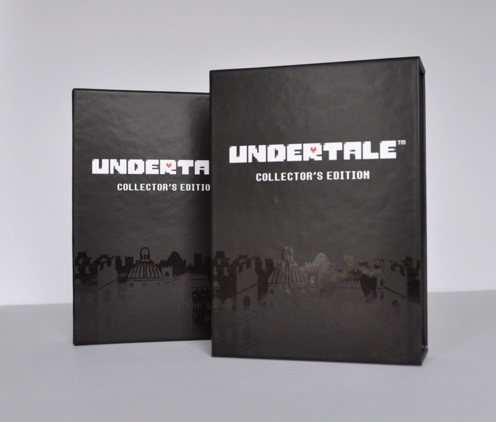 Undertale Collectors Edition Slipcase with Spot UV